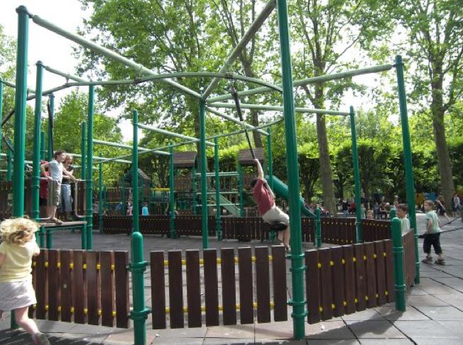 Paris playgroundology for Le jardin luxembourg