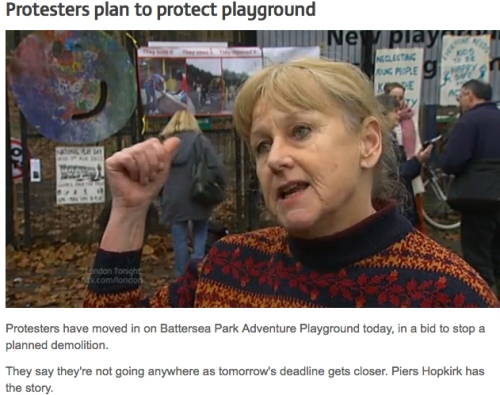 Battersea Adventure Playground - ITV