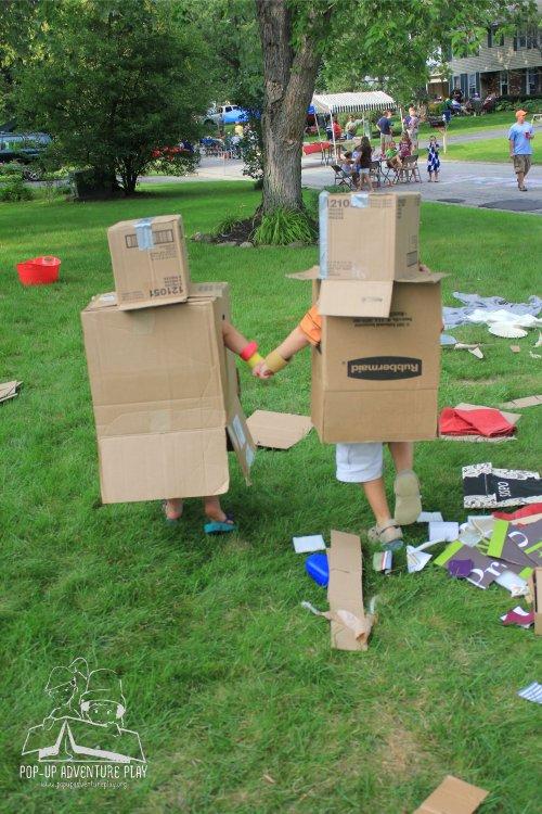 robot kids