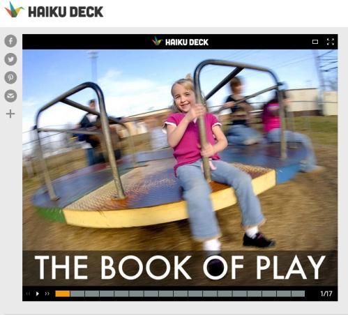 Haiku - The Book Of Play