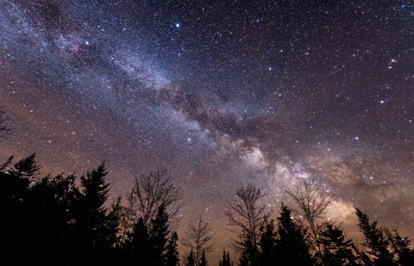 Nachts im Kejimkujik Nationalpark