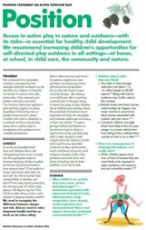 risk taking during childhood play The managing risk in play provision: implementation  recognising that positive risk-taking has a role to play in fostering children's optimal health and development, this practical guide has shifted risk management practice from mechanistic technical calculations  role of play in children's lives this guide allows.